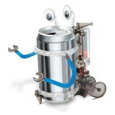 Toysmith 4M Tin Can Robot --- http://www.amazon.com/Toysmith-4M-Tin-Can-Robot/dp/B0014WO96Y/?tag=mydietpost-20