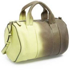 Alexander wang heat sensitive color change Rocco This is a limited edition Alexander Wang Rocco bag. Great condition and barely used. It's a dark olive green color and when warm changes to a neon greenish/yellow. Sold out everywhere!!! Tags and dust bag included. Alexander Wang Bags
