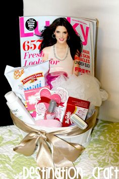 House Guest Basket :) Cute! - perfect for guest bedroom/bathroom