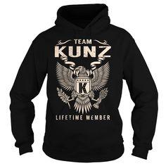 Team KUNZ Lifetime Member - Last Name, Surname T-Shirt