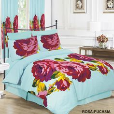 ARLINENS Duvet Quilt Cover with Pillowcases Bedding Set Exclusive Designs in Following Sizes: (SINGLE, BLUE STRIPE): Amazon.co.uk: Kitchen & Home