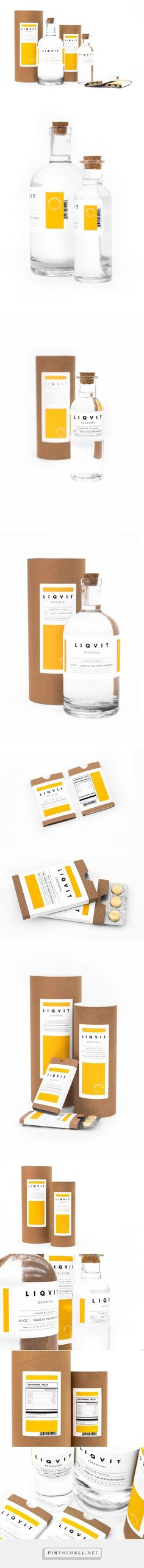 Liqvit Vitamin Packaging by Herman O. Awuku | Fivestar Branding Agency – Design and Branding Agency & Curated Inspiration Gallery