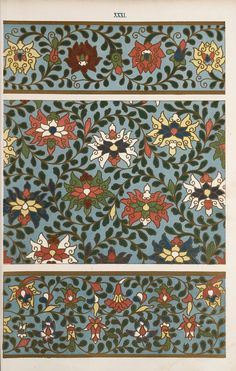 Examples of Chinese ornament, selected from objects in the South Kensington Museum and other collections : [estampe] / by Owen Jones -- 1867 -- images Chinese Design, Asian Design, Chinese Art, Chinese Culture, Textiles, Textile Patterns, Chinese Ornament, Art Nouveau, Owen Jones