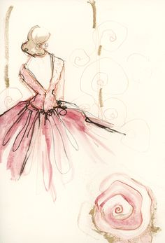 IN THE SKETCHBOOK | Paperfashion