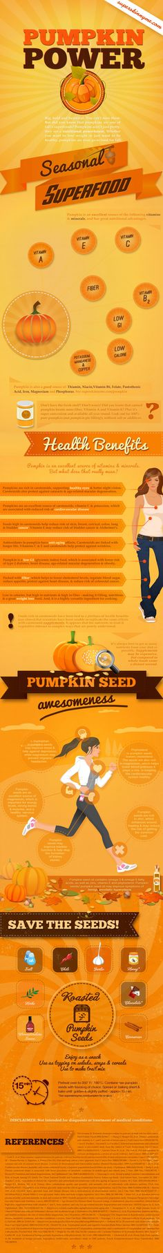 Pumpkin Power Infographic