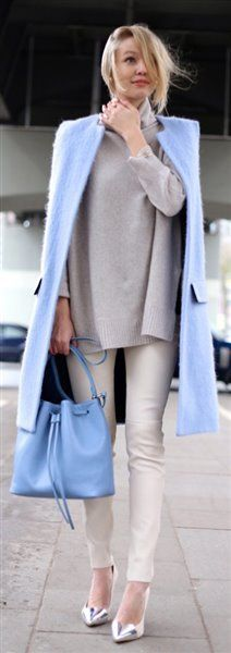 25 early spring outfits in pastel colors #springfashion #outfit