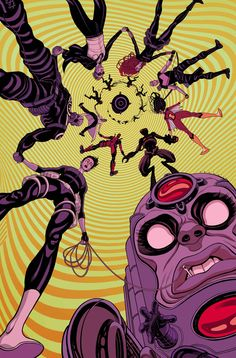 SECRET AVENGERS #14 ALES KOT (W) • MICHAEL WALSH (A) Cover by TRADD MOORE