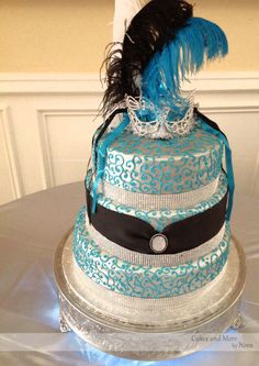 Masquerade Sweet 16   Cakes and More by Nora