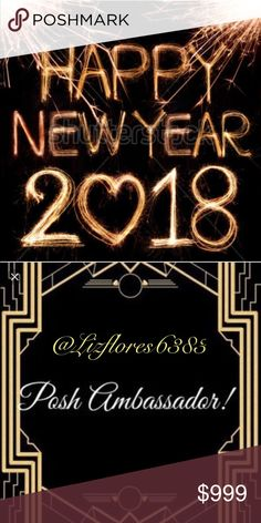 Help Me Help you!! It's New Years Eve and everyone is enjoying their last day in 2017! Join me and make new connections for the coming year 2018! Happy Posh! Share, Share, Share! Connect, connect, connect!  Game rules: 🎇LIKE THIS POST 🎆SHARE THIS POST 🎉TAG ON THIS POST, friends, new connections 🎊FOLLOW EVERY PARTICIPANT 📈  Thank you All for the Posh LOVE and Have a Happy New Year! FOLLOW GAME Other