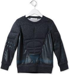 Grey Rowbow sweatshirt at stellamccartney.com $135