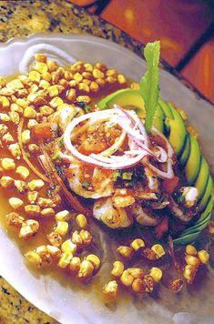 Ecuadorian Shrimp Ceviche by Douglas Rodriquez
