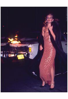 """""""Nightlife is your Dior""""  with Patti Hansen by Chris Von Wangenheim for Dior campaign, 1976"""