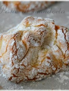 These unique, folded Angel Biscuits are the perfect addition to any holiday meal. Baking Recipes, Cookie Recipes, Italian Almond Cookies, Angel Biscuits, My Favorite Food, Favorite Recipes, Susan Recipe, Cakes Plus, Biscotti Cookies