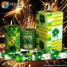Sada  • zelených svíček