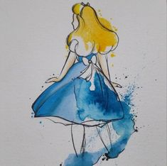 42 Ideas wallpaper iphone disney princess alice in wonderland Alice In Wonderland Paintings, Alice And Wonderland Tattoos, Alice In Wonderland Illustrations, Watercolor Paintings For Beginners, Watercolor Paintings Abstract, Tattoo Watercolor, Disney Drawings, Art Drawings, Round Robin