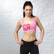 Reebok - LES MILLS Graphic Short Bra