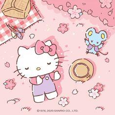 Hello Kitty Art, Hello Kitty My Melody, Sanrio Hello Kitty, Sanrio Wallpaper, Hello Kitty Wallpaper, Kawaii Cute, Kawaii Anime, Hello Kitty Imagenes, Hello Kitty Pictures