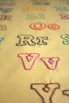 embroidery letter pdf patterns