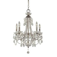 Found it at Wayfair - 5-Light Crystal Chandelier