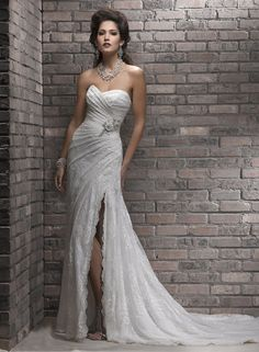 Large View of the Myra Bridal Gown