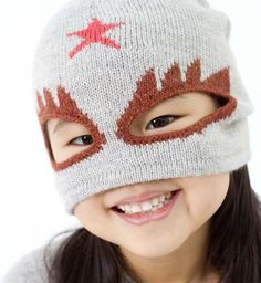 An addition to the superhero hat collection by Oeuf be good for winter 2013  _ Kind of crazy, but kind of cool!! haha!! I want this for Ava!!