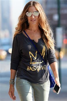 Sarah Jessica Parker went grocery shopping in New York's West Village on Sept. 5, 2014.