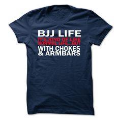 482edf3569 Brazilian jiu jitsu life T-shirt Estampas