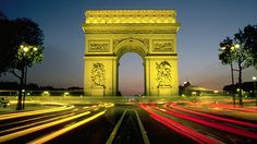 The Arc de Triomphe stands at the center of Place de l'Étoile, the hub from which 12 grand avenues — including the idyllic pedestrian mall, the Champs Élysées — radiate to form the star for which the Place de l'Étoile is named. Climb to the Arc's panoramic viewing terrace and gaze down each avenue into the city. Rows of neatly trimmed plane trees line each avenue, heightening the effect. You can also see the Eiffel Tower in its entirety.