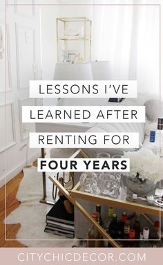 Struggle to decorate your rental apartment or studio apartment? Decorating your rental apartment, on a budget, can be super easy with these studio apartment ideas. Here is what I learned after renting for 4 years: #studioapartmentideas #studioapartmentdecorating #rentaldecorating #rentalapartmentdecorating #rentalhomedecoratingdiy #smallapartmentdecorating #smallapartmentideas Simple Apartment Decor, Apartment Decorating On A Budget, Rental Decorating, Apartment Ideas, Apartment Essentials, Apartment Goals, Dream Apartment, Decorating Tips, Studio Apartment Layout