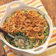 Green Bean Casserole Recipes from Taste of Home  #Thanksgiving