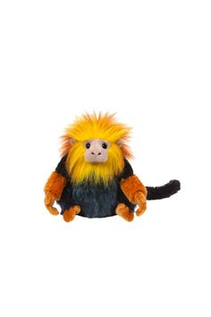 "There's no monkeying around when it comes to how cool it is having the Golden Lion Tamarin as a pet! This tree-climbing friend loves to rest up overnight in their Rainforest Sleeping Bag. But when it's time to rise and shine make sure you serve some Wildflower Nectar for a delicious start to their day! This plush lion is a Webkinz and comes with an access code to bring it to life on line. And it's recommended for ages 5 and up.  Dimensions: 8.5"" L  Golden Lion Webkinz by Ganz Gifts. Home…"
