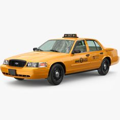 Models For Sale, Taxi, Yellow, 3d, Gold