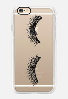Casetify iPhone 7 Case and Other iPhone Covers - Eyelash Wink  by Sweet Water Decor, LLC   #Casetify