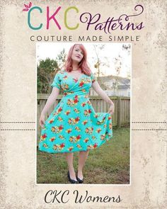 Create Kids Couture - Mattia's Women's Asymmetrical Circle Dress and Tunic  PDF Pattern, $8.00 (http://ckcpatterns.com/mattias-womens.html)