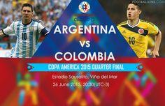 Argentina Vs Colombia (Quarter Final Copa America): Live stream, TV channel list, Lineups, Prediction, Watch online, Preview - http://www.tsmplug.com/football/argentina-vs-colombia-quarter-final-copa-america/