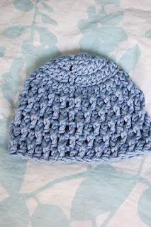 Deeply Textured Preemie Baby Hat free crochet pattern