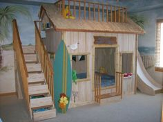 cool toddler surfer rooms | Kait & Kaboodle: Spy Moves, Humble Abode, Dad's Birthday: BYU Game ...