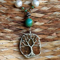 tree of life on petrified wood - a question - are you growing or are you petrified to do so?
