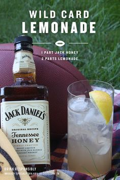 Anything can happen when Jack Honey joins the pregame. And for this pregame, we have given you one of the simplest recipes to make your squad cheer.  All you need to do is fill our cup with ice, pour 1 part Jack Honey and 2 parts Lemonade. Give it a stir, a slice of lemon, and your ready to enjoy the rest of your game day.