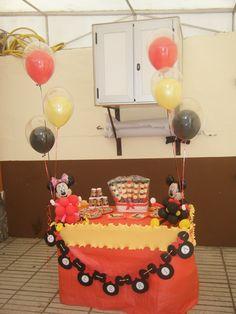 cumpleaños de Mickey