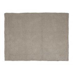 PET matta rep 190x130cm grå
