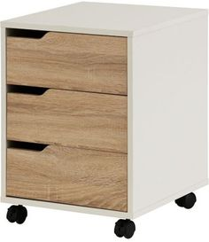 bol.com | Organiser - Ladeblok Wit / Eiken zilver Filing Cabinet, Dresser, Storage, Furniture, Home Decor, Products, Purse Storage, Powder Room, Decoration Home