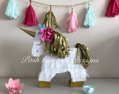 Unicorn Letters/ Unicorn First Birthday/ by PoshCoutureDesigns