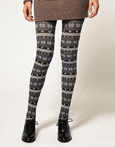 I love anything in Fair Isle; even Tights.