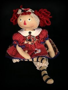 Learn.Create.Inspire: Samantha Walker Creative Team Blog Hop Mom Died, Making Dolls, Miscellaneous Things, Raggedy Ann And Andy, Love You Mom, Hello Dolly, Rag Dolls, Handmade Dolls, Softies