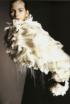 Denkend Aan Holland,Bette Frank in Viktor & Rolf Haute Couture, Spring 1999 by Philip Riches for Avant Garde, July 2008