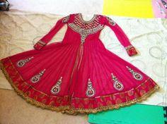 Asian Salwar Kameez Anarkali Churidar Suit Dress Wedding Eid
