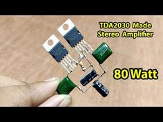 Electronics Basics, Electronics Components, Electronics Projects, Diy Subwoofer, Subwoofer Speaker, Class D Amplifier, Stereo Amplifier, Arduino, Sony Led Tv