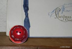 Red Cone Vintage Button Adjustable Ring by RustIsVogue on Etsy, $13.00