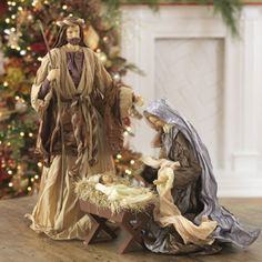 Clothes are taffeta and the bodies are polystone. Measurements: Figures are Little Christmas, All Things Christmas, Xmas, Blue Christmas, Merry Christmas, Christmas Settings, Christmas Decorations, Christmas Palace, Christmas Nativity Scene